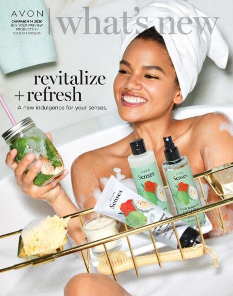 #Avon What's New Brochure Campaign 14 2020 - #Promoting Avon #Online