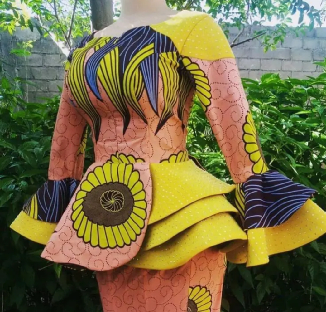 100 In 1 Hausa's Ankara Styles For Lefe and I See I Love