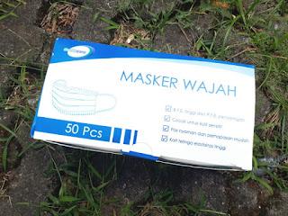 Masker Medis Mediocare 3 Ply 1 Kotak Isi 50 Murah 3 Lapis