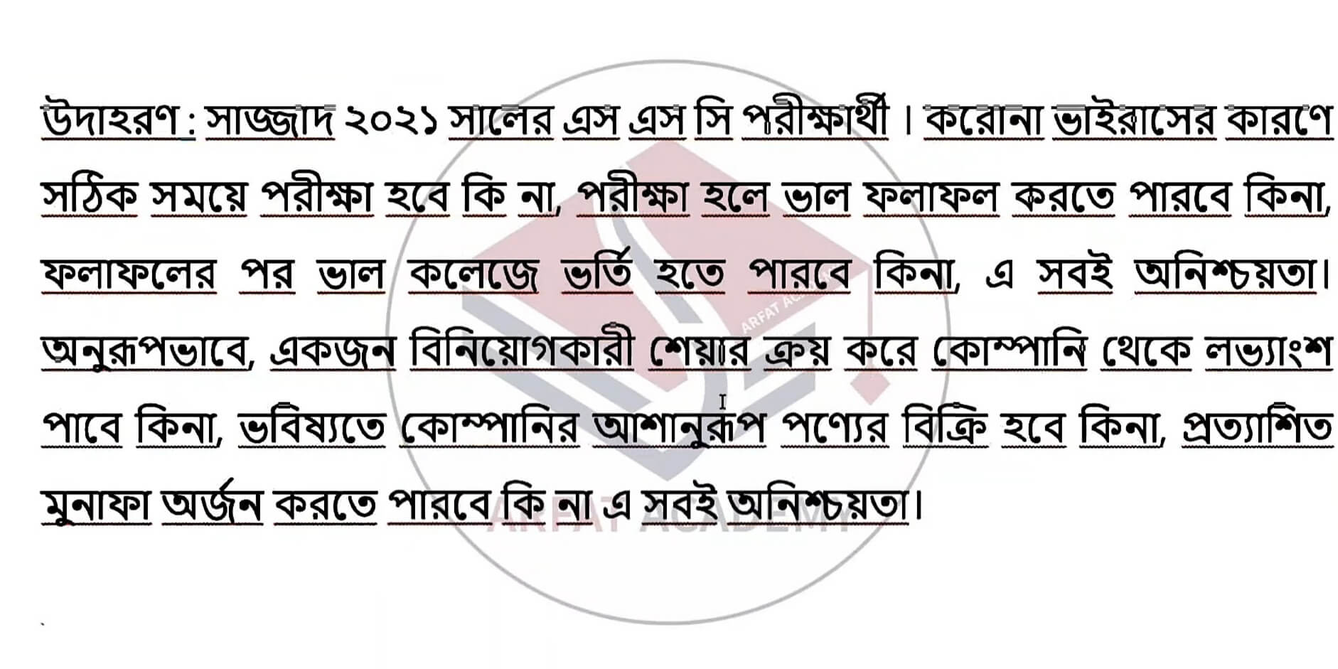 SSC Finance and Banking Assignment Answer 2021 6th Week