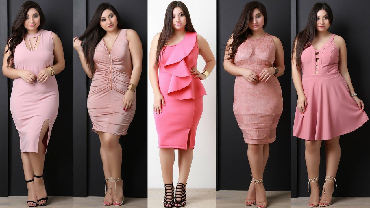 Vestidos Rosa Para Gorditas Solo Para Gorditas