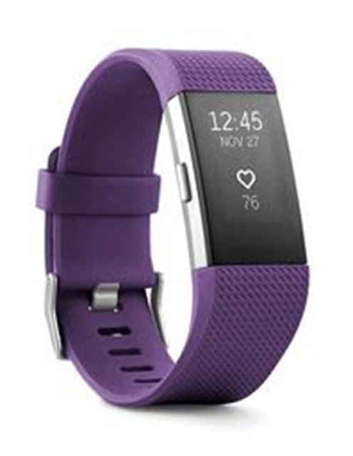 Fitbit Charge 2 Activity Fitness Tracker and Heart Rate Monitor Wristband only $99.95 (was $199.99) with Free Shipping. Available in Plum & Black.