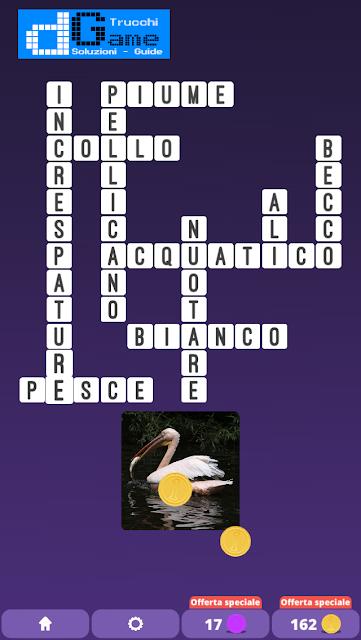 Soluzioni One Clue Crossword livello 8 schemi 10 (Cruciverba illustrato)  | Parole e foto