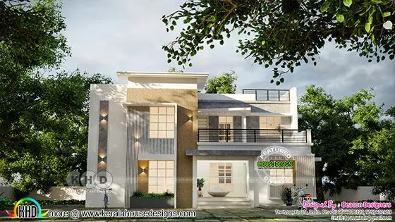 traditional mix contemporary house