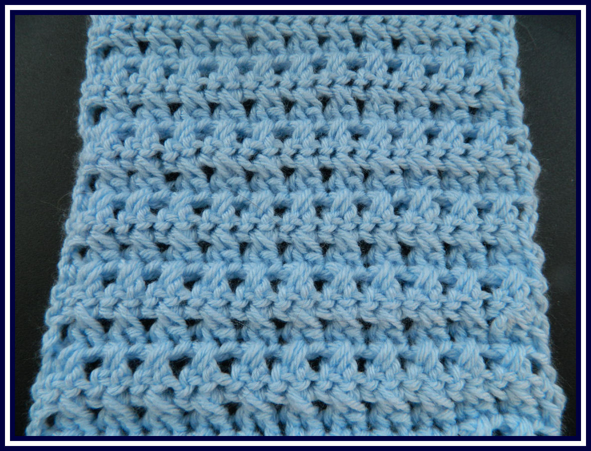 Soft new Crochet Neckwarmer using a new crochet stitch pattern