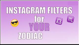 Zodiac Filter Instagram, Cara mendapatkan filter Instagram Zodiac