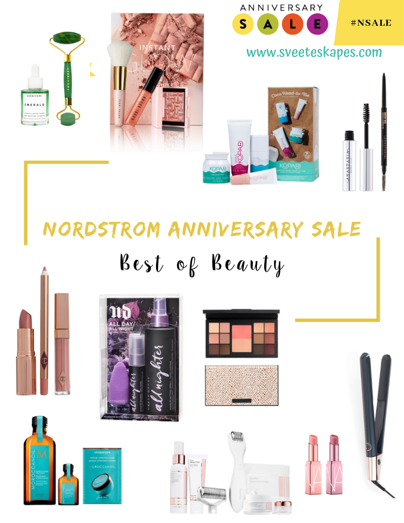 Nordstrom Anniversary Sale Top Beauty Picks featured by top US beauty blog, Sveeteskapes