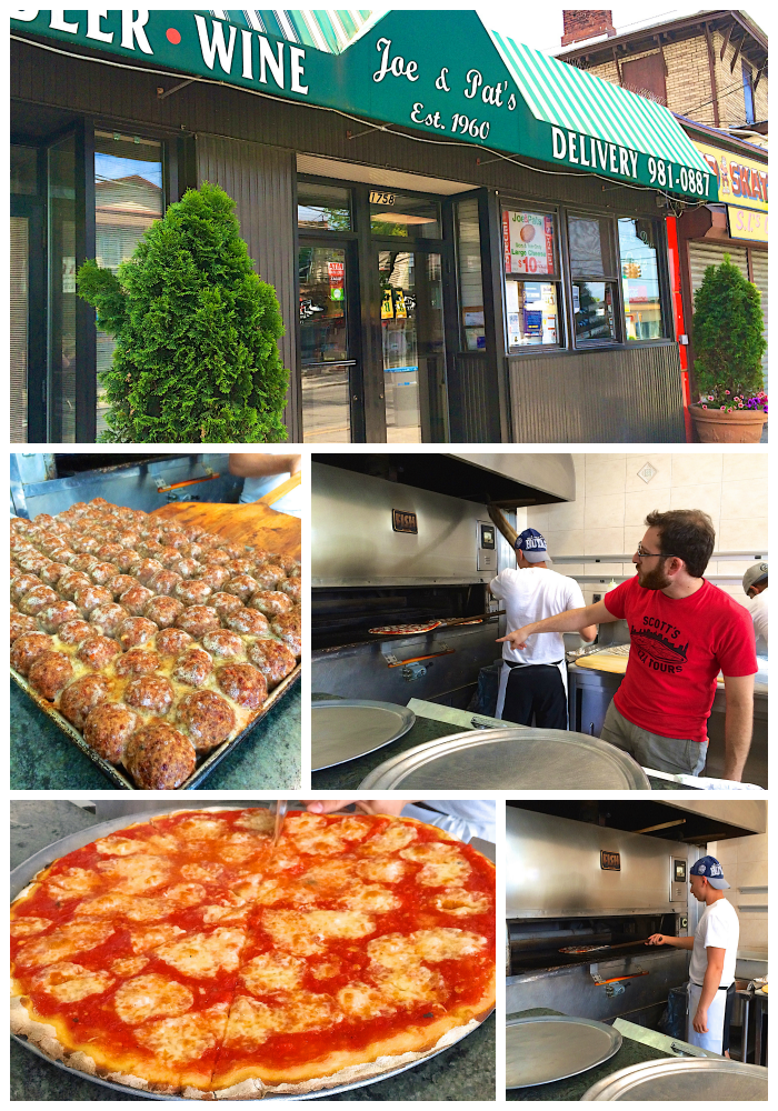 Joe & Pat's Staten Island - Scott's Pizza Tour NYC - a must do activity on your next trip to New York City. Do a walking tour or the Sunday bus tour. Great way to sample tons of delicious NY Pizza!