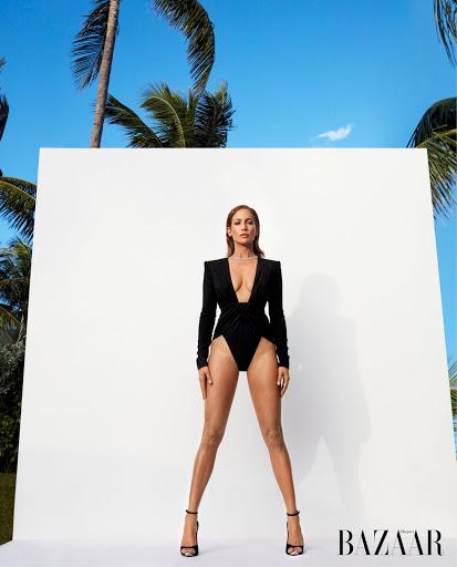 Jennifer Lopez sexy fashion model photo shoot