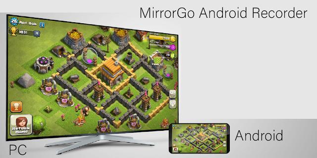 Aplikasi Wondershare MirrorGo