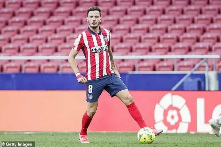 Saul Niguez's agent 'is speaking to Manchester United and Liverpool over a move for the midfielder'