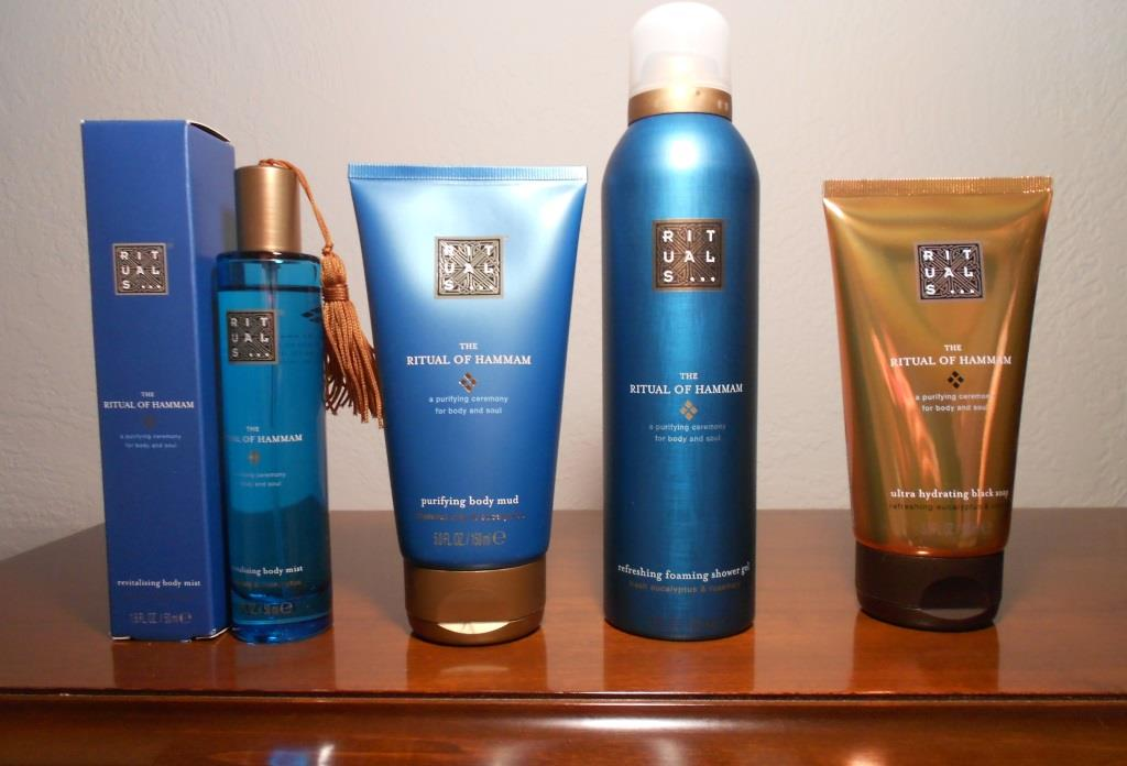 Ritual of Hammam four Bath and Body Care products From Rituals