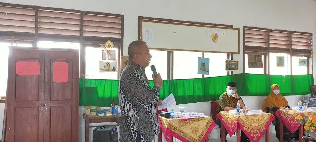 Kepala Disdik Kabupaten Natuna Hadiri Deklarasi Menuju Sekolah Ramah Anak SDN 002 Tapau