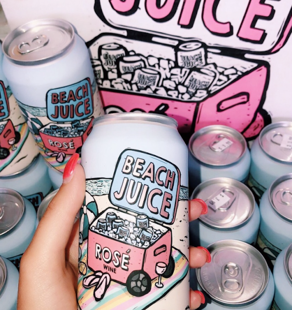 Canned Wine Beach Juice