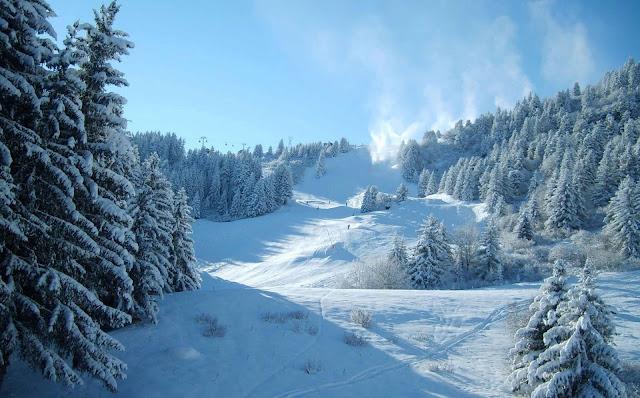 15 Nature Winter, Snow, Mountain, Road, Trees Ultra HD Wallpapers 4K Desktop