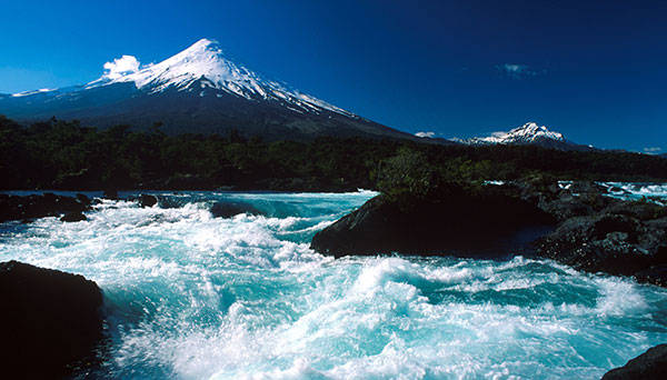 Los Lagos Region, Chile.