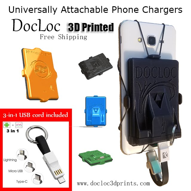 Universal with 3-in-1 USB cord included