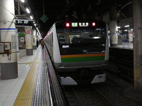 【ダイヤ改正で廃止!】高崎・上越線表示の新前橋行きE233系