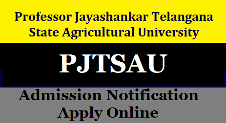 PJTSAU Telangana Agriculture Polytechnic Diploma Admission Notification 2019 Apply Online @ pjtsau.ac.in