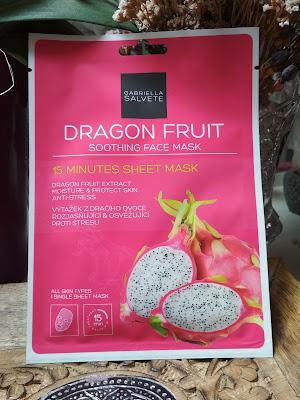 Gabriella Salvete Hydratačná pleťová maska Dragon Fruit