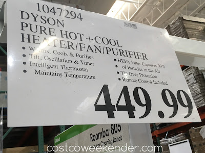 Deal for the Dyson Pure Hot + Cool Link Purifier at Costco