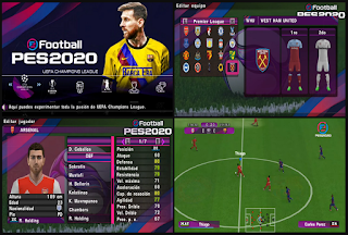 Download PES 2020 PPSSPP Chelito C19 Patch G Allves PSP Android