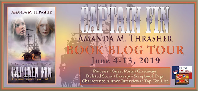 Captain Fin book blog tour promotion banner
