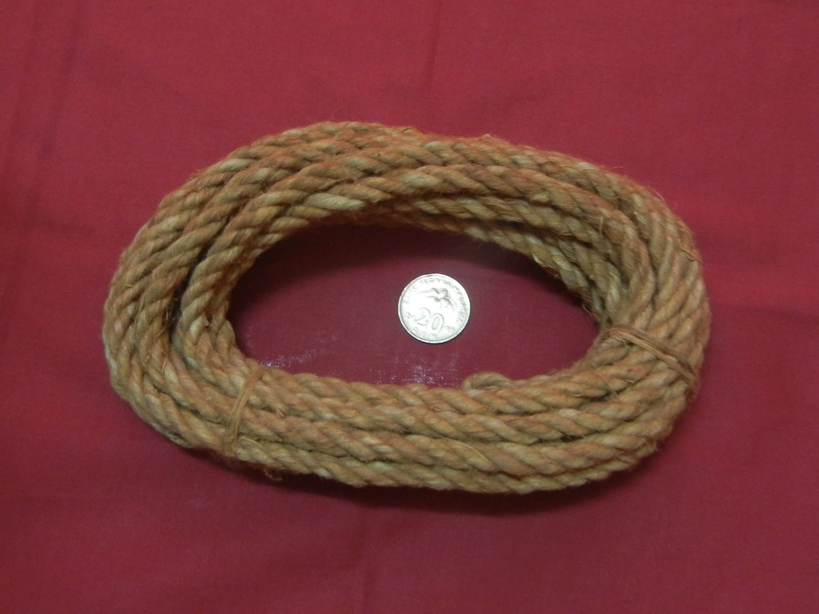 geliga kinabalu tali kulit kayu asli