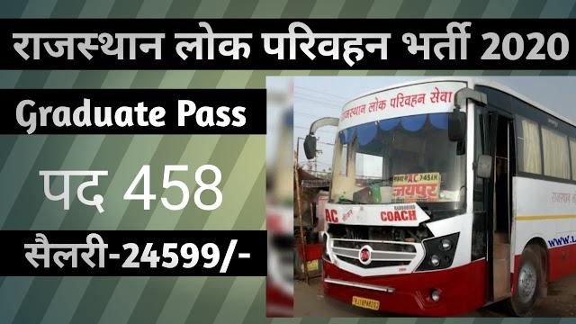 राजस्थान लोक सेवा आयोग RPSC Recruitment 2020