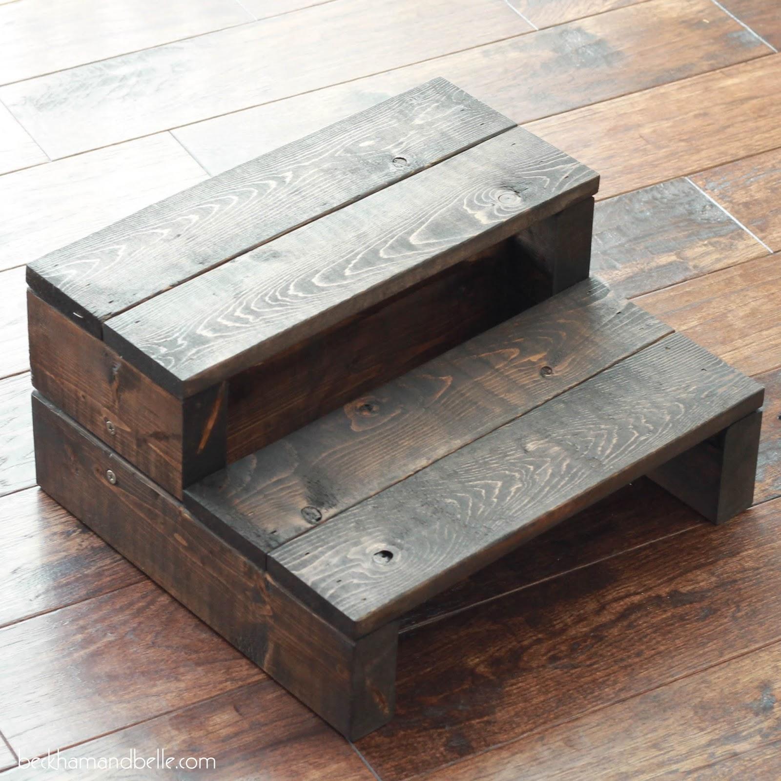 Beckham Belle Super Simple Kid S Diy 2x4 Wooden Step Stool