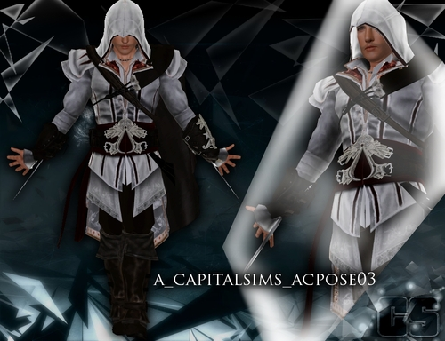My Sims 3 Blog Assassin S Creed Pose Set By Anita