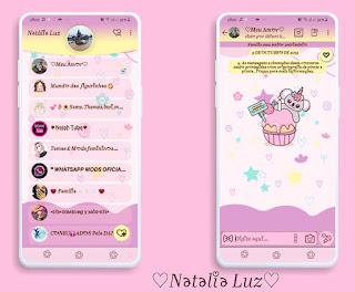 Happy Koellyn Theme For YOWhatsApp & Fouad WhatsApp By Natalia Luz