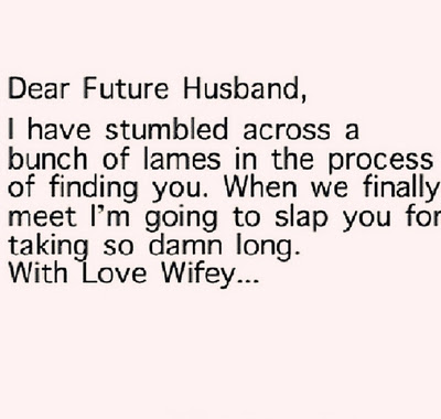 Funny Quotes For Future Husband
