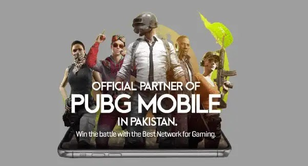 Zong Become Official Network Sponsers for PUBG Mobile National Championship Pakistan