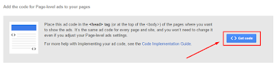 Cara Pasang Google Page-level Ads di Blogspot