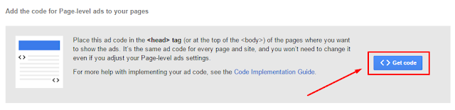 Cara Pasang Iklan AdSense Page Level Ads Di Blog