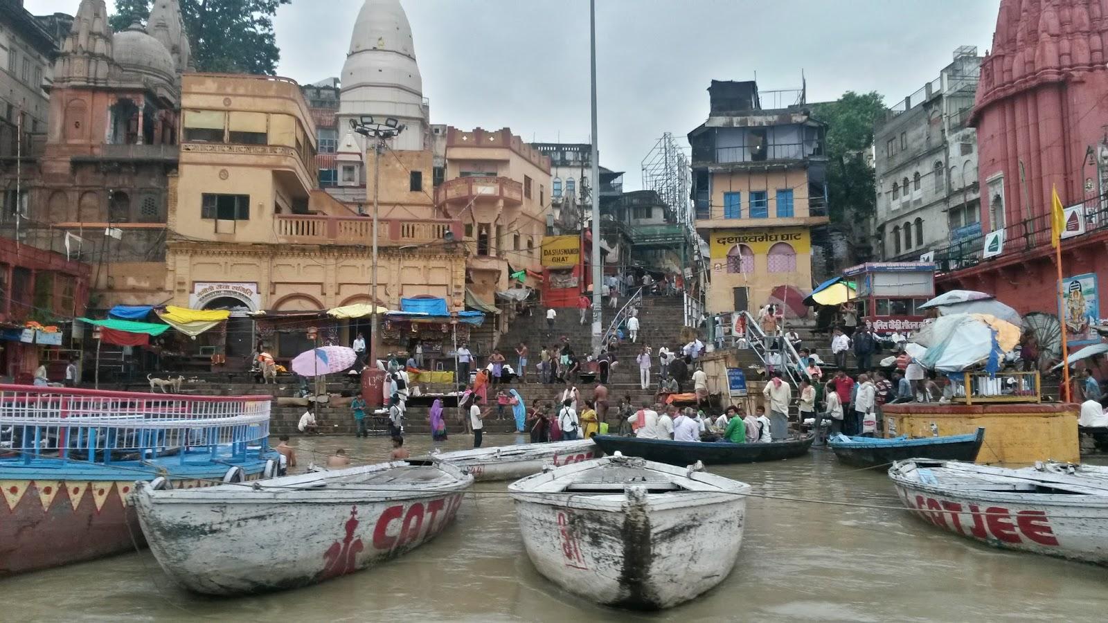 varanasi india hindistan ghat dashashwamedh