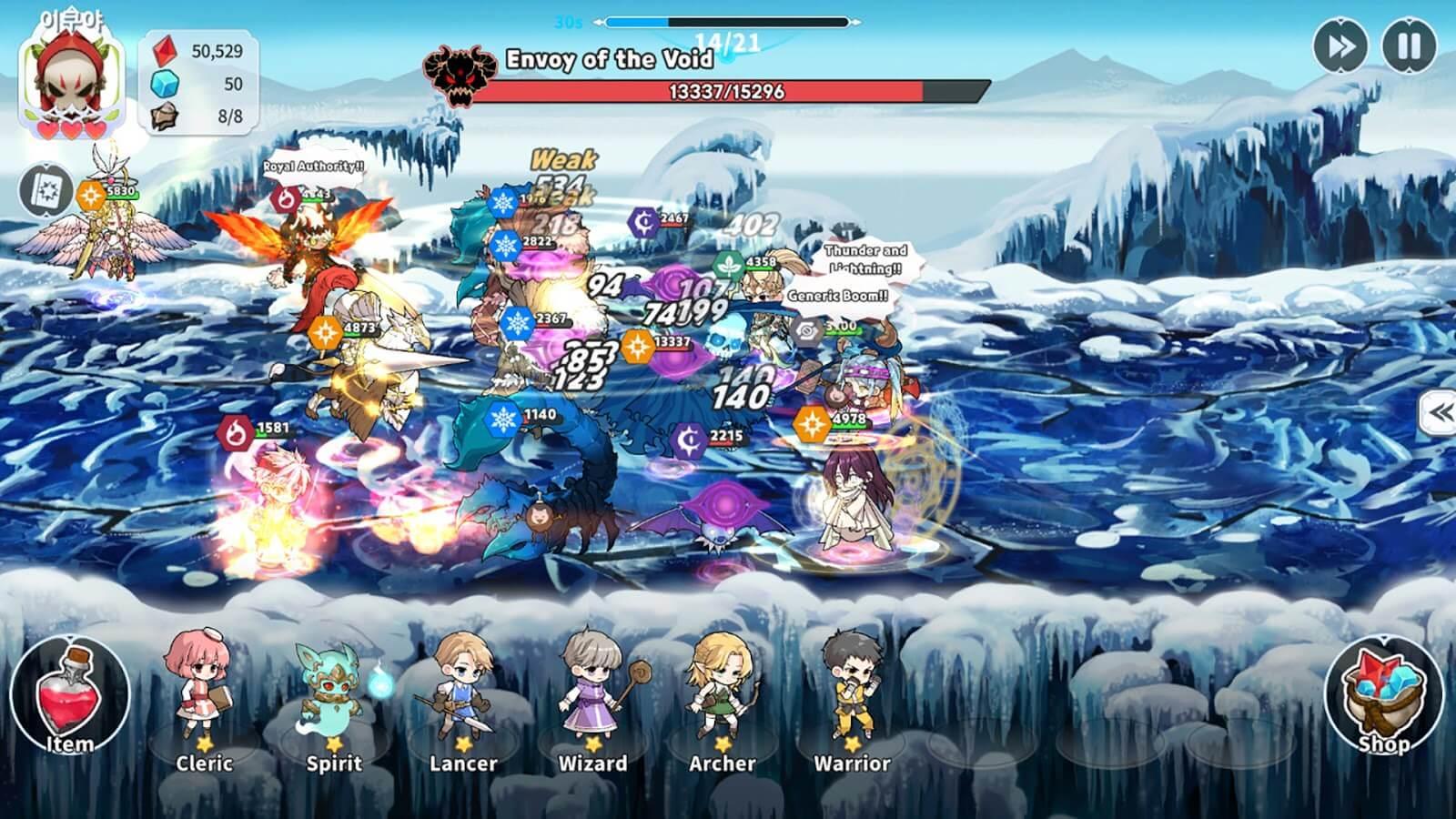 Arcana Tactics heroes