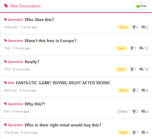 Big Brain Academy Miiverse community New Discussions lack of enthusiasm