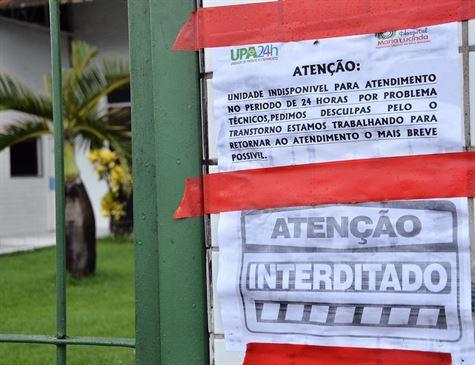 Idosa com carrapatos leva à interdição da UPA da Caxangá