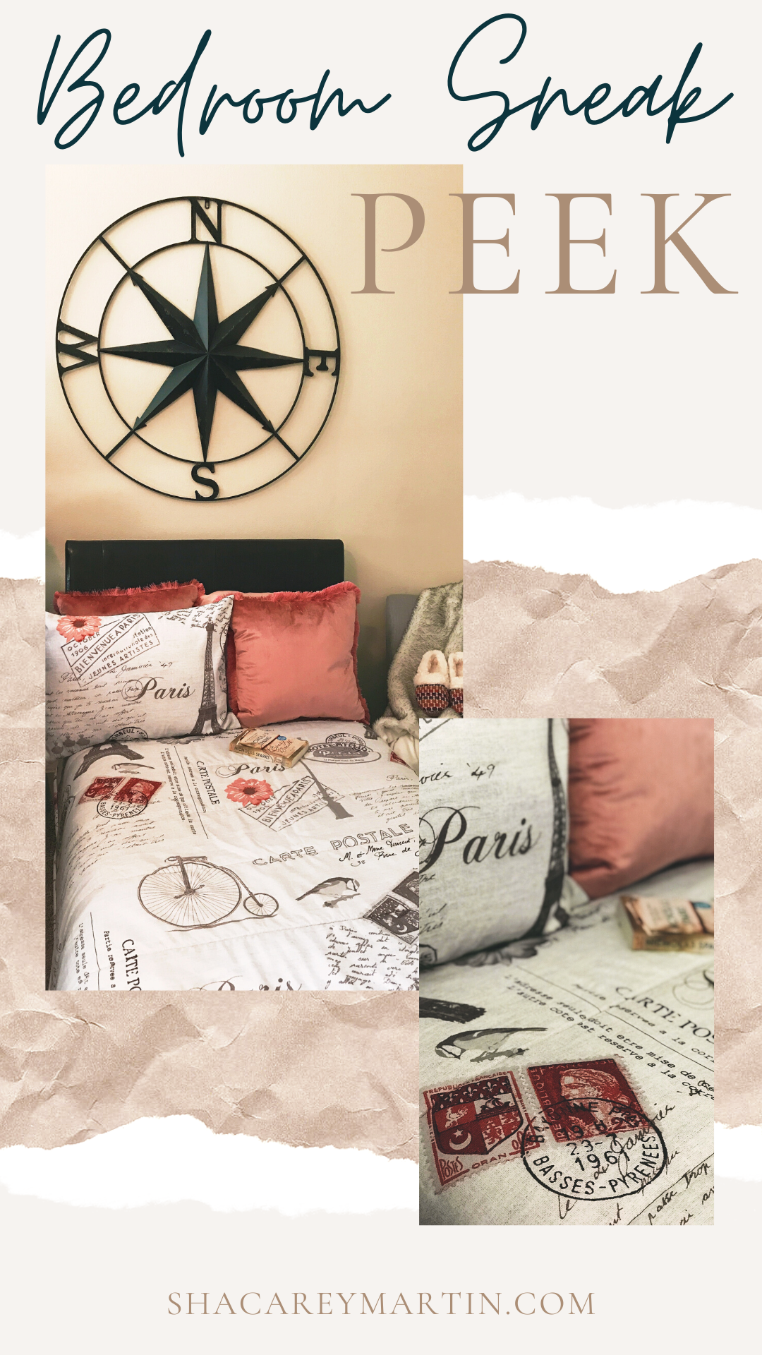 Bedroom Sneak Peek: My Spring Decor (Cozy and Chic) Style