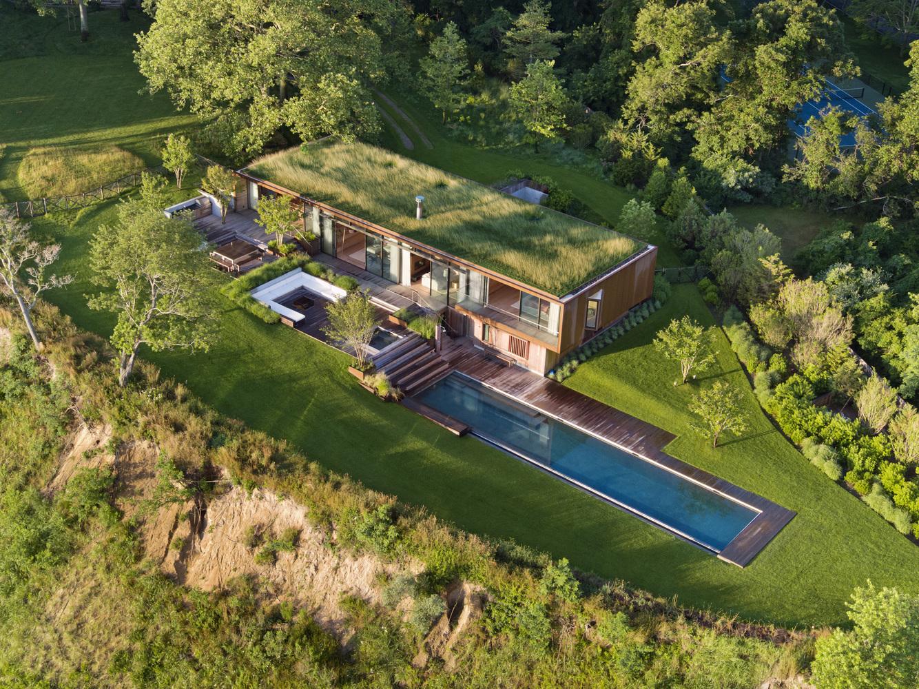 Villa in controtendenza negli Hamptons