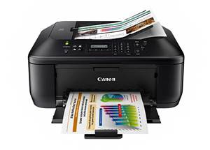 One fits perfectly in the home office with it Canon PIXMA MX434 Driver Downloads
