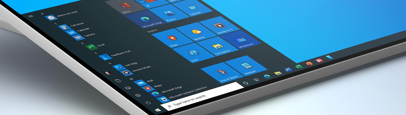 Le nuove icone di Windows 10 anche nella versione stabile (1909)