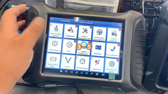 Autel IM608 Pro and Xtool X100 PAD3 Comparison 10