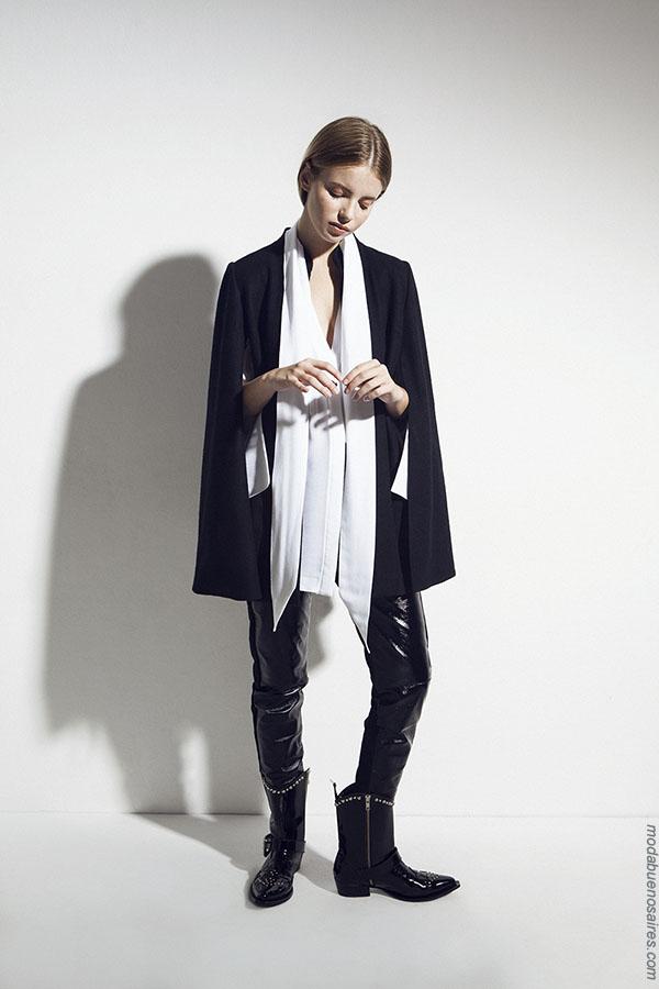 Moda invierno 2018 ropa de moda mujer.