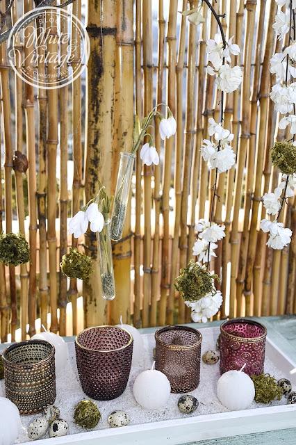 DIY-Frühlingsdeko mit Naturmaterialien
