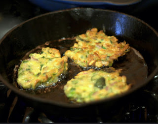 Fried Cabbage Fritters.