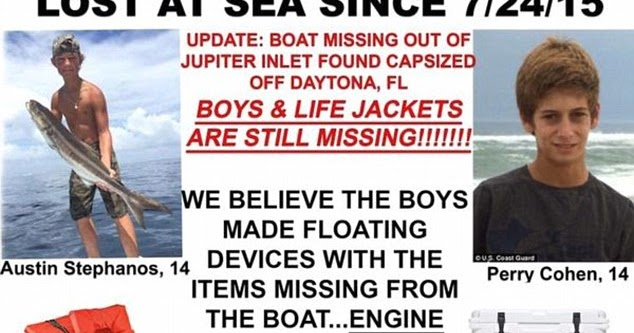 infowe on Twitter: Missing boys Perry Cohen and Austin
