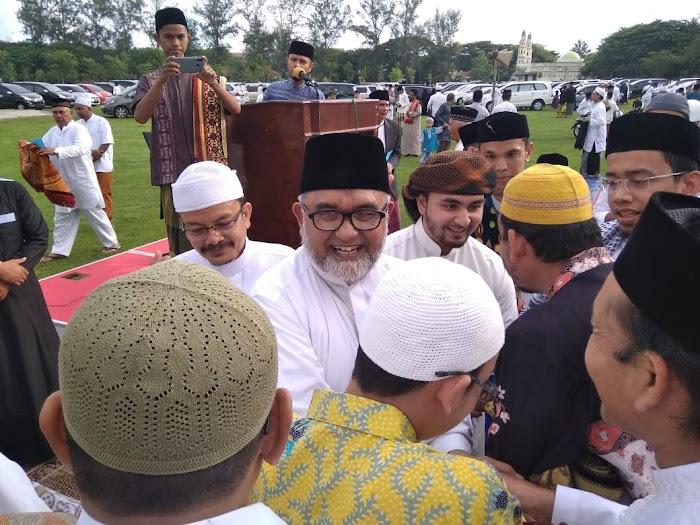 Shalat Idul Fitri di Lapangan Tugu, Dewan Imam Australia: Aceh harus Berjihad untuk Kesejahteraan